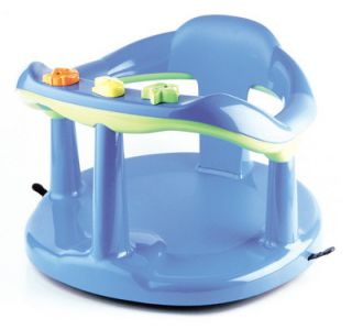 safety 1st blue baby bath seat suction baby tub chair. Black Bedroom Furniture Sets. Home Design Ideas
