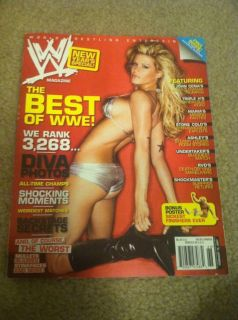 Ashley Massaro Best of WWE 2007 Raw Wrestling Magazine WWF Divas WCW