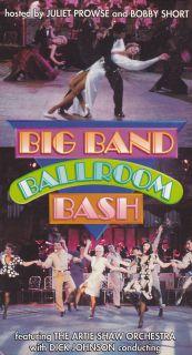 Big Band Ballroom Bash VHS The Artie Shaw Orchestra