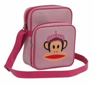Paul Frank Princess School College Messenger Bag Pink