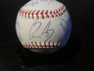 2012 San Francisco Giants Team Signed World Series Baseball PSA DNA