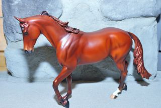Peter Stone Design a Horse special red chestnut thoroughbred