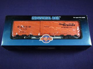 Industrial Rail Atlas Rio Grande Freight Car 0 27 Traditional in
