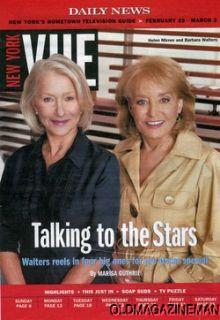 New York Vue Helen Mirren Barbara Walters Forbes March