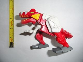 Power Rangers ~ Dino Thunder ~ RED T REX MEGAZORD ~ BVS / McDonalds