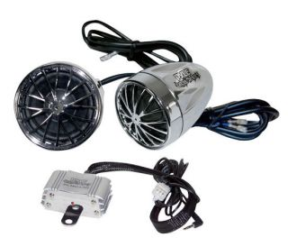 400 Watts Amp and Speakers Motorcycle Audio Sound System