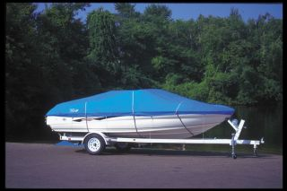 Aluminum Fishing O/B Trail Blazer Boat Cover Length 15 6 Beam 78