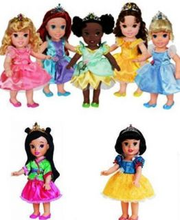My First Princess Ariel Mulan Cinderella Aurora Snow Belle T
