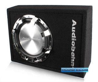 Audiobahn 10 660W Max SEALED Shallow Mount Car Stereo Subwoofer