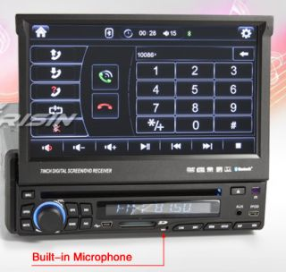 Erisin ES618G 7 1Din HD Screen Car DVD Player GPS iPod TV CD FM Radio