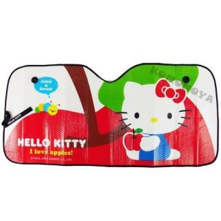 Sanrio Hello Kitty Car Accessory Sun Block Shade Appl