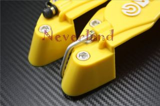 Front Universal Car Auto Disc Brake Caliper Covers Brembo Look 3D