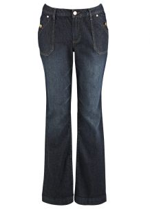 Avenue Plus Size Pick Stitch Bootcut Jean