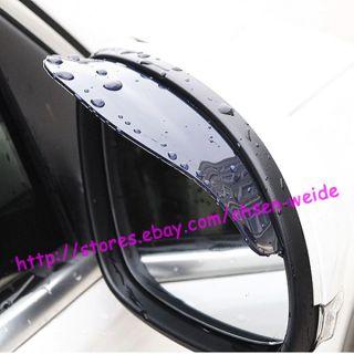 Auto Rear View Mirror Rainproof Rain Cover Sheet x 2 Pieces for Car