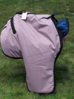 Western Horse Saddle Carrier Case Bag 600D Padded Lavander Color