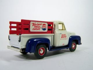 34 First Gear 1953 Ford F 100 Pickup Truck Pepsi Cola Bottling Co 19