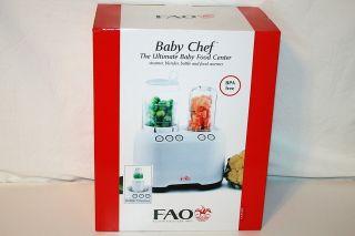 FAO Schwarz Baby Chef Ultimate Food Processor Steams Chops Warms More