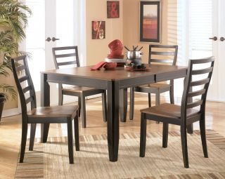 Ashley Furniture Alonzo Casual Dining Room Set 4 Chairs D367 01 35