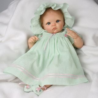 Ashton Drake So Truly Real Baby Doll Dominique Artist Cheryl Hill