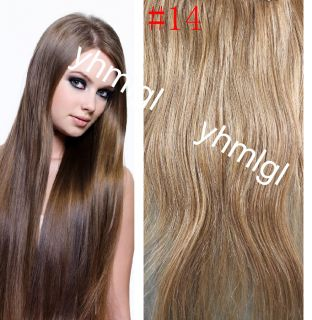 Choose Remy 7pcs Clip in Asian Real Human Hair Extensions 70g