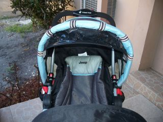Baby Jeep Wagoneer Travel System Stroller