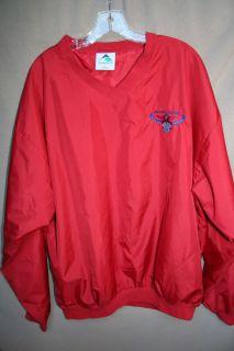 VTG Atlanta Hawks pullover jacket basketball smith vintage rare jersey