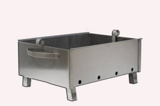 Stainless Steel Charcoal Grill Kebab BBQ Portable 12x16