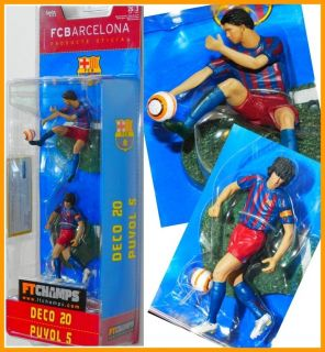FC BARCELONA Football SOCCER Figure DECO 20 PUYOL 5 coleccionables