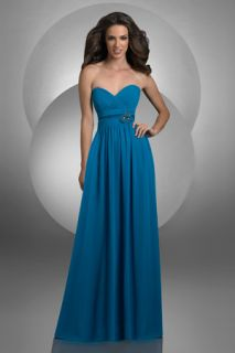 BARI JAY 2012 style 412 peacock Color size 12 BRIDESMAID COCKTAIL