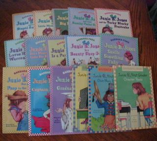 Jones Kids Chapter Books by Barbara Park Reading Level 2