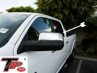 Dodge RAM 1500 2500 3500 Dually TFP Chrome Towing Mirror Covers