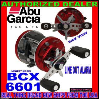 BCX 6601 6601BCX Abu Garcia Ambassadeur Round Reel Fishing Baitcast