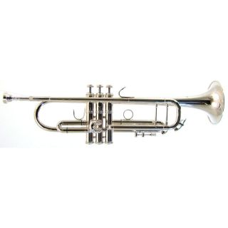 barrington model tr210s student bb trumpet in silver