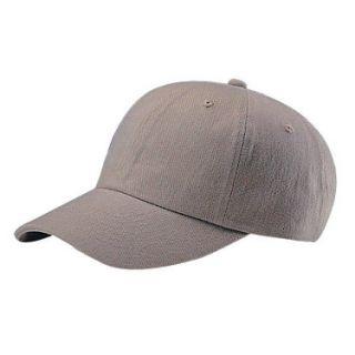 New Plain Low Profile Baseball Hat Cap Adjustable Strap Khaki