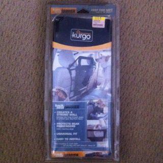 Kurgo Dog Pet Car Vehicle Back Seat Safety Barrier New