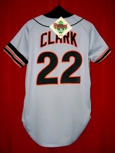 Vintage AUTHENTIC Will Clark San Francisco Giants 89 World Series
