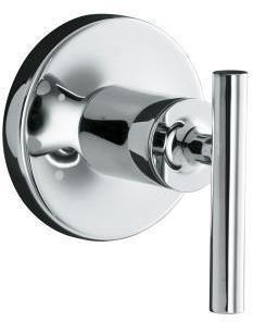 Nickel Watertile Body Spray Shower Set Purist Trim w Valves