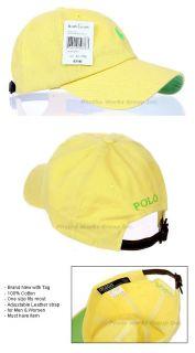 Outdoor Golf Sports Classic Baseball Ball Cap Hat Yellow Apple