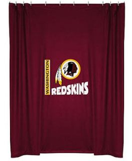 The Washington Redskins NFL Bathroom Shower Curtain New