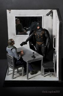 Batman   Joker Hot Toys Interrogation Room +Art Canvas Nt Sideshow
