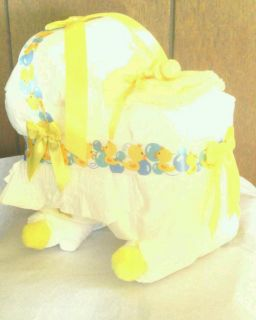 Bassinet Diaper Cake Baby Shower Gift Duckies