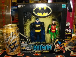 Batman Robin Figures 2001 Hasbro  Limited Edition Mint in Box