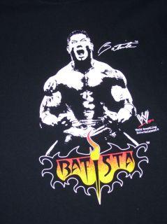 WWE Batista Wrestling T Shirt Mens Medium