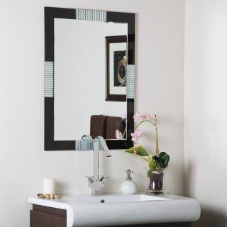 Frameless Designer Wall Mirror Bevel Hall Bathroom