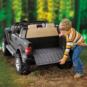 price ford f150 pickup battery powered riding toy 2 person seater