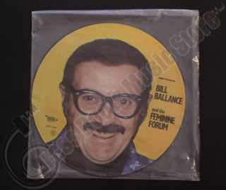 Bill Ballance and The Feminine Forum Picture Disc Vinyl