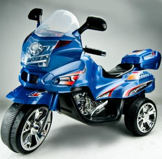 Kid Ride on 3 Wheels Motorcycle Bike 6V Electric Battery Powered Toy