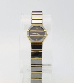 Baume Mercier Avant Garde 1830 Womens Ladies Watch 18k Gold Tungsten