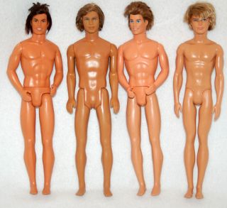 Mattel Barbie Ken Male Fashion Doll Body Lot for OOAK