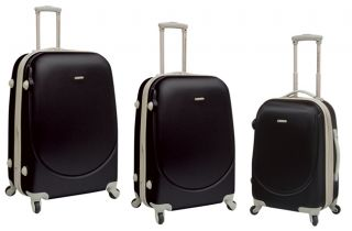 Travelers Club Barnet Collection 3 Piece Hardside Spinner Luggage Set